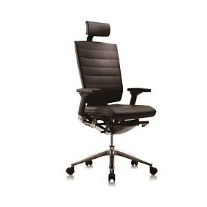 SIDIZ T550HLDAS EXECUTIVE CHAIR BLACK