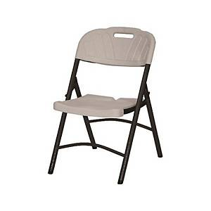 [직배송]퍼스트 브로몰딩 접이식 의자 화이트