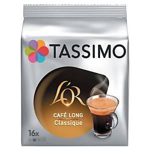 Café Tassimo L Or long classique - paquet de 16 T-DISCs