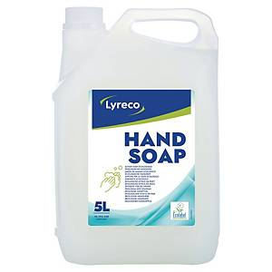 Liquid soap Lyreco, ecological, 5 l canister