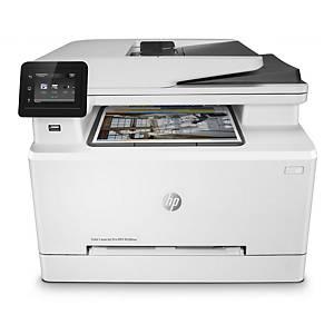 Farblaserdrucker HP Laser Jet Pro M282nw, Blattformat A4, Laser farbig