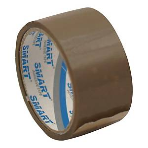 TOTAL MARKET PACK TAPE ACR 48X50M BRW