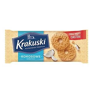 KRAKUSKI COCONUT COOKIES 168G