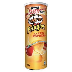 Chips Pringles Classic Paprika - boîte de 175 g