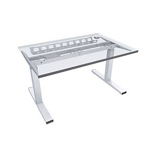 ES E-MODEL RECT DESK 140X80CM BEACH BRIG