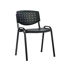 Konferenčná stolička Antares Taurus, čierna
