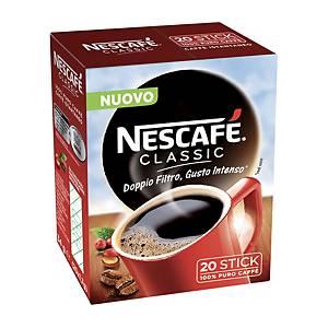 Caffè istantaneo Nescafè Classic in Stick da 1,7 g  - conf. 20