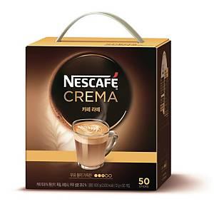 PK50 NESCAFE CREMA CAFÉ LATTE 12G