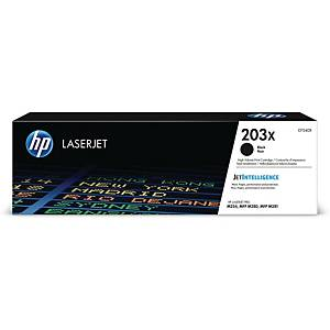 HP Laser Toner Cartridge CF540X 203X Black
