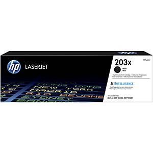 HP 203X (CF540X) toner cartridge, zwart, hoge capaciteit