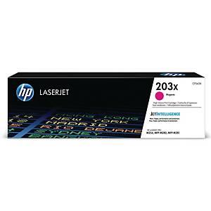 Lasertoner HP 203X CF543X, 2.500 sider, magenta