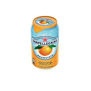 San Pellegrino Can 330ml - Pack of 6