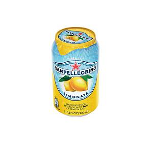 San Pellegrino Spark Lemon Can 330ml - Pack of 6
