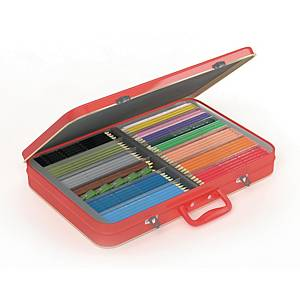 Färgpennor Faber-Castell, utvalda färger, förp. med 300st.
