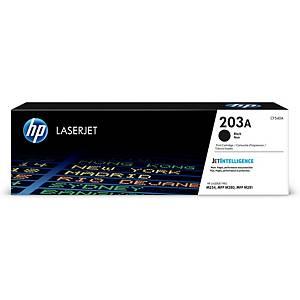 HP 203A (CF540A) Lasertoner, schwarz