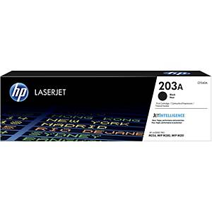 HP 203A (CF540A) toner cartridge, zwart