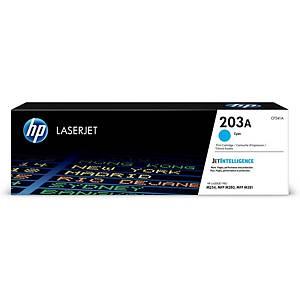 HP laserový toner 203A (CF541A), cyan