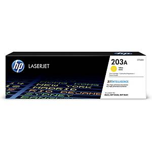 HP 203A (CF542A) toner cartridge, geel
