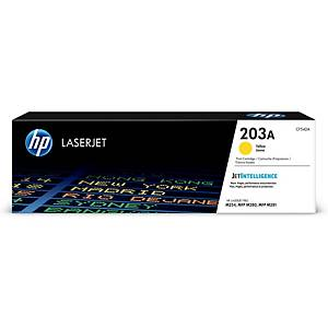 HP CF542A 203A Laser Toner Cartridge Yellow
