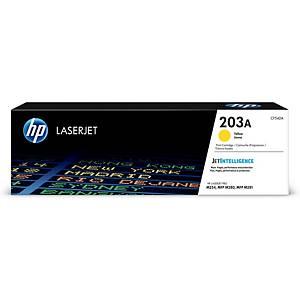 HP toner lézernyomtatókhoz 203A (CF542A), sárga