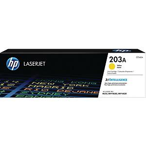 Lasertoner HP 203A CF542A, 1 300 sider, gul