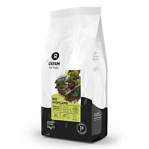 Oxfam Highland Bio gemalen koffie, pak van 1 kg