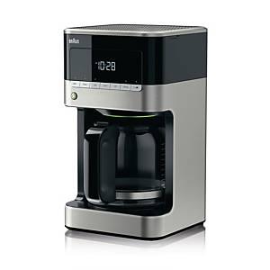 Braun PurAroma 7 koffiezetapparaat met timer (KF7120), zwart/antraciet