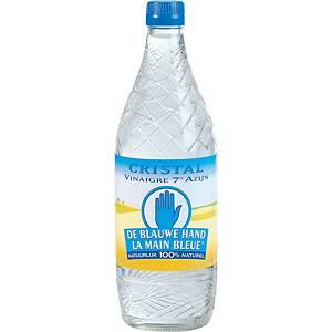 Cristal De Blauwe Hand azijn 7°, per fles van 750 ml