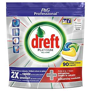 PK90 DREFT PLATINUM DISHWASHER TABLETS LEMON