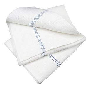 FLOOR CLOTH 50X60CM WHITE - PACK OF 2
