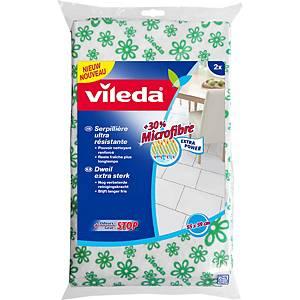 VILEDA FLOOR CLOTH GREEN - PACK OF 2