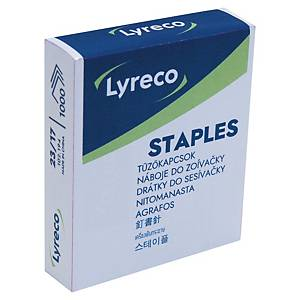 Lyreco Staples 23/17 Grey - Box of 1000