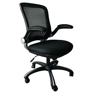 A2000 6490 CHAIR SYNCRO W/ARMS BLK