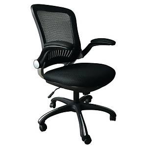 Cadeira com mecanismo sincronizado Archivo 2000 6490 - preto