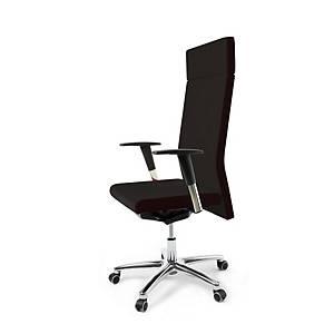 Cadeira de direçao BD5000 com mecanismo sincronizado com cabeceiro preto