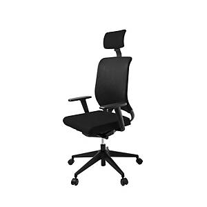 RS 15C SYNCRO CHAIR W/HEAD BLACK