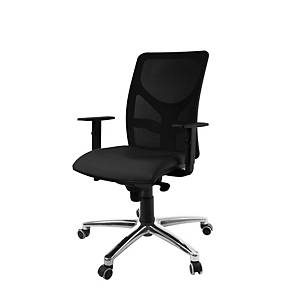 PM10 SYNCRO CHAIR ALU/BLK