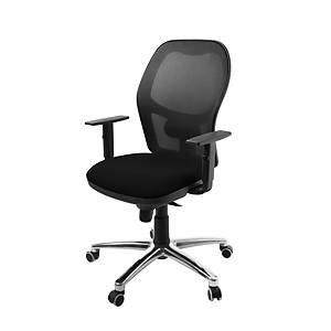 PS10 SYNCRO CHAIR ALU/BLK