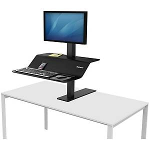FELLOWES LOTUS WORKSTATION VE1 BLK