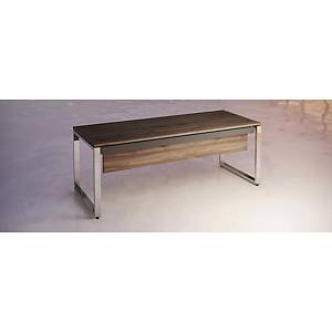 ATLANTIC LUXE TABLE180X90X74WALNUT/CHROM