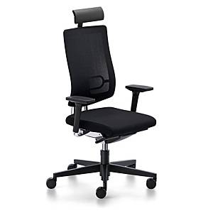 SEDUS BLACK DOT 24 CHAIR BLACK