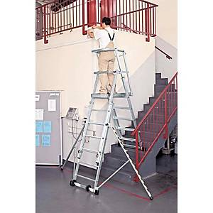 ZARGES LADDER PLAT ADJUSTABLE 1,30/2,40M