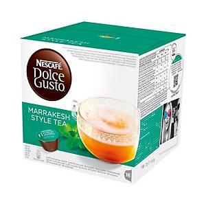 Caixa 16 cápsulas de chá Dolce Gusto Marrocos