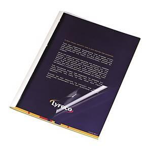 M&A 熱能訂裝套白色 脊寬 2mm - 每盒50個