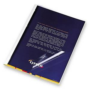 M&A 熱能訂裝套白色 脊寬 3mm - 每盒50個