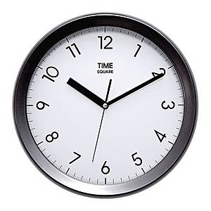 TIME TS4882 METAL CLOCK BLACK