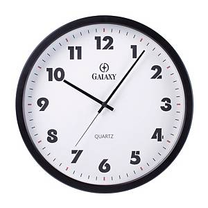 GALAXY CP5063 WALL CLOCK BLACK