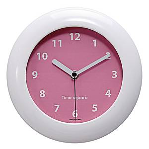 TIME TS0180 WATERPROOF WALL CLOCK PINK