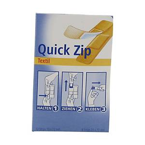 Distributeur pansements Hartmann Quick Zip, élast./résist. à l eau, 20 unit.