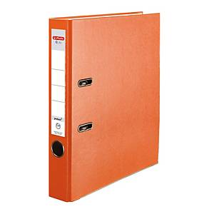 Herlitz Q.file Standardordner, Rückenbreite 5 cm, orange